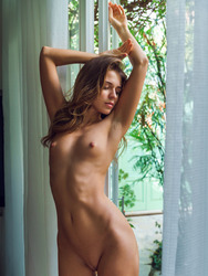 Slim Beauty Kalisy Stripping At Her Home