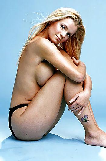 Kerry Katona Sexy Topless Pics