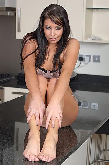 Antonia Stokes Tiny Sexy Feet