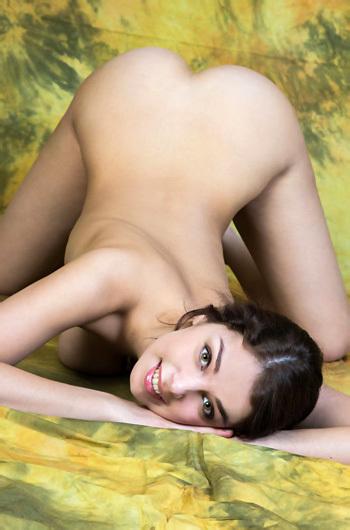 Evita Lima Naked In The Studio