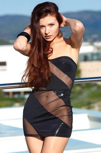 Lovely Russian Teen Berenice