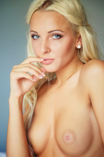 Beauty Blonde Angel Maya