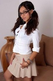 Exotic Teen Babe Veronica Stripping