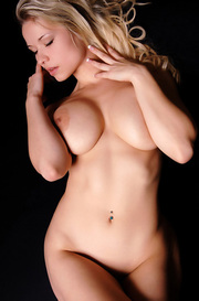 Busty Blonde Beauty Maria Nilsson Naked