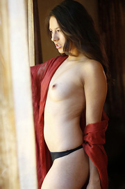 Shyla Jennings Gets Naked By The Window