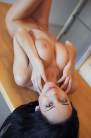 Lydia Nude In The Kitchen