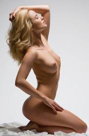 Gabi Naked Posing In Studio