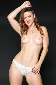 Curvy Redhead Karlie Montana Strips Off Her Sexy Lingerie