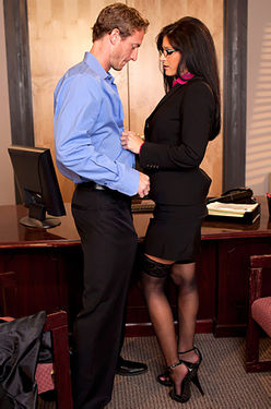 India Summer Office Fuck