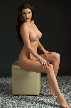 Gorgeous Nude Brunette