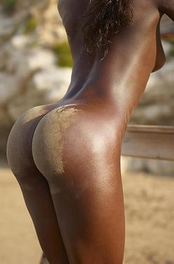 Amazing Ebony Panther Simone