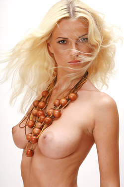 Katya Nude In The Studio